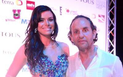 Custo Barcelona y Nicolás Felizola en el Miami Fashion Week