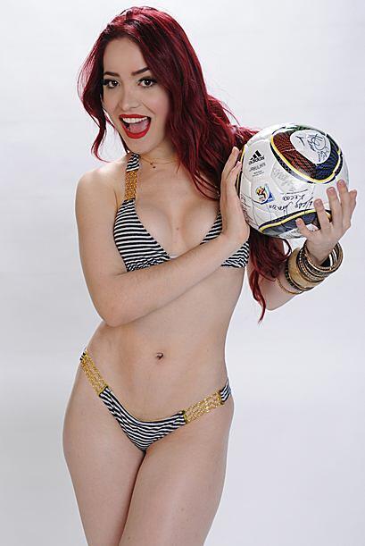 Como buena aficionada al deporte más popular del mundo, Karen dis...
