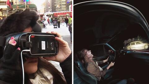 """Gracias a la realidad virtual puedes """"vivir"""" la experiencia de un accide..."""