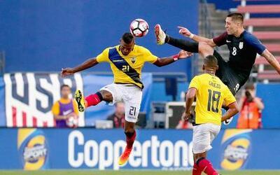 Team USA vence a Ecuador apenas con lo justo