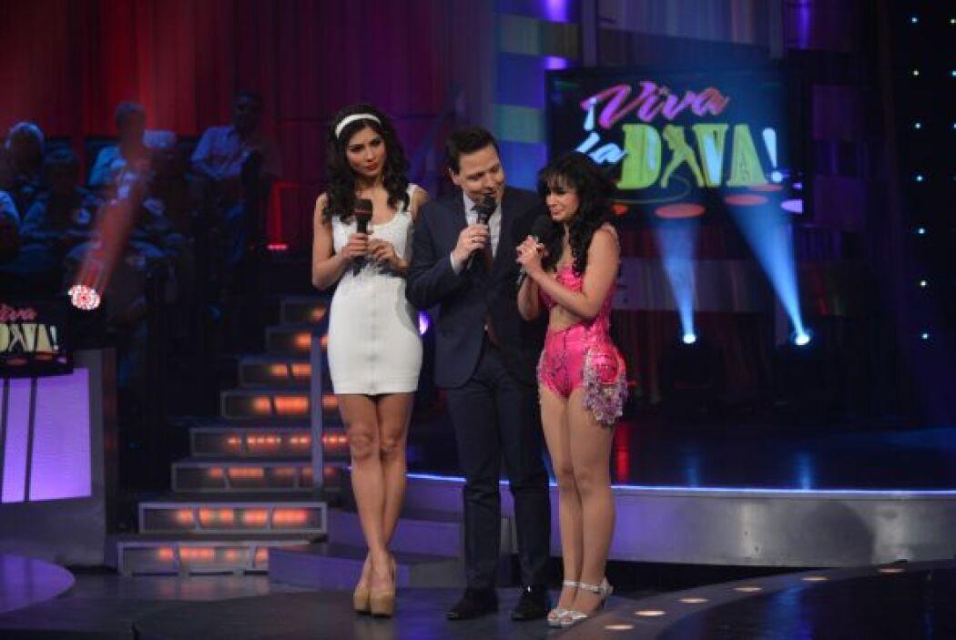 Alejandra y Raúl recalcaron el esfuerzo de la participante para entrarle...