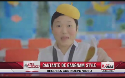 Cantante de Gangnam Style regresa con nuevo video