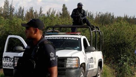 Se desplegó un operativo para buscar a los autores del ataque a la policía