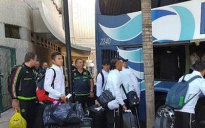 El Tri Olímpico vuelve a México aún apenado