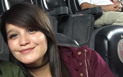 Flor Lugo que desapareció el pasado viernes en el Estadio Caliente.