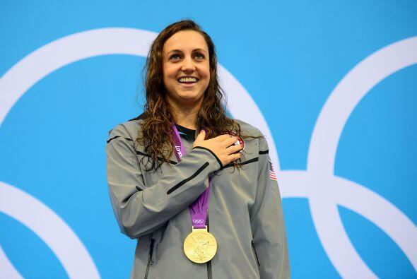 7- REBECCA SONI, nadadora  Medallas de oro: 2  Medallas de plata: 1  Med...