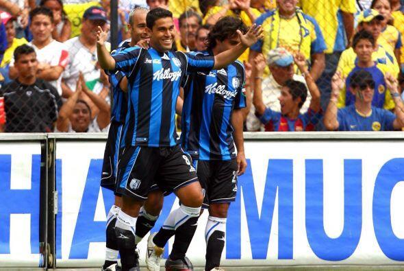 El Querétaro, en su primer regreso a la división de ascenso, mostraban n...