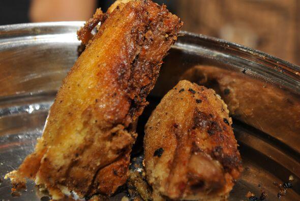Aunque la carne de pollo es la más común para rellenar los...