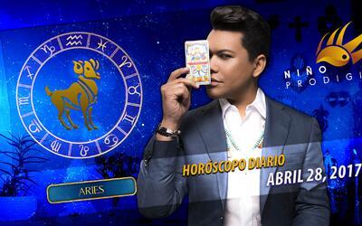 Niño Prodigio - Aries 28 de abril 2017