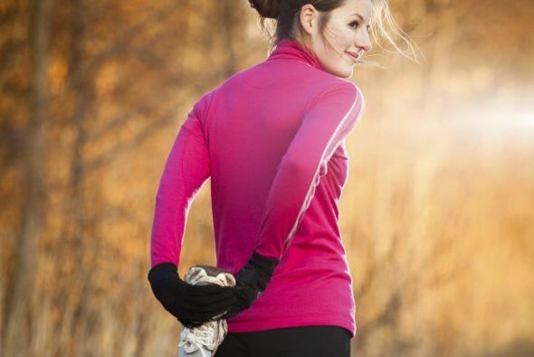 Con el 'running' tonificas piernas, glúteos y hasta abdomen. Es c...