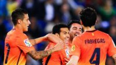 Barcelona le ganó el domingo al Espanyol en Liga y repitió en la Copa de...