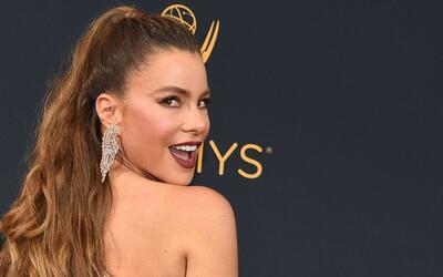 Sofía Vergara a su llegada a la gala de los Premios Emmy Awards e...