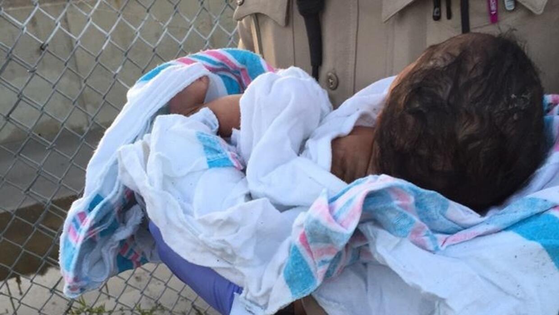 Agentes del Sheriff rescataron a un bebé abandonado en Compton
