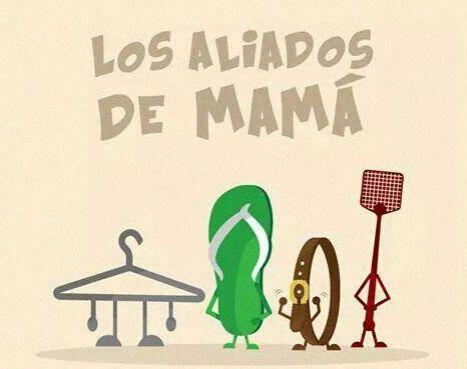 """""""Los aliados de mamá""""."""