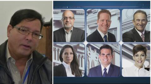 Todo listo para el debate #Convenceme por Univision Puerto Rico