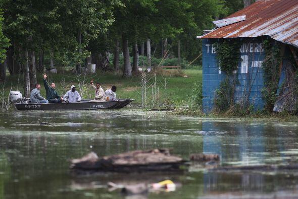 La apertura del canal de desvío de Morhanza podría provoca...
