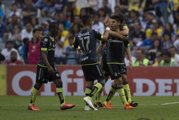 Santos y Oribe reaccionaron como grandes.-  A los 20 minutos  perdían 2-...