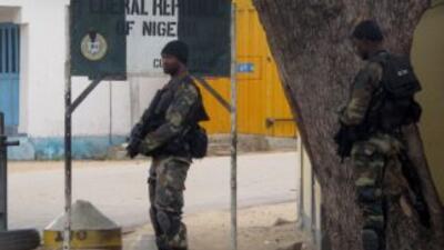 Soldados de Camerún.