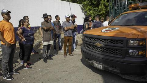 En difíciles condiciones permanecen cubanos en medio del limbo migratori...