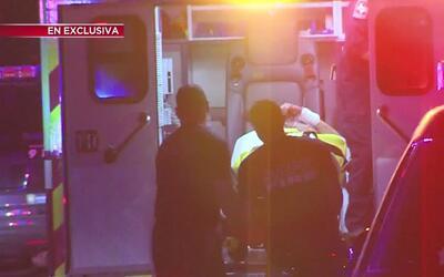 Hombre con padecimientos mentales fue herido por agente de la policía