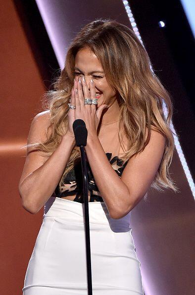 ¡Sino también por lo sexy que lució  Jennifer Lopez!...
