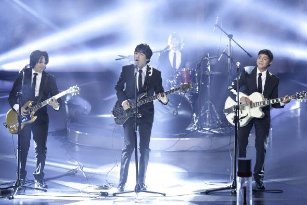 El grupo 'Ikloo', conformado por cuatro adolescentes fanáticos de Los Be...