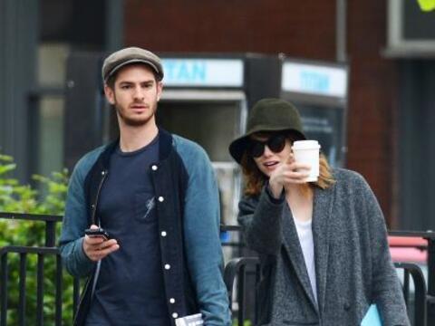 Emma Stone y su novio Andrew Garfield son de las parejas más 'hot...
