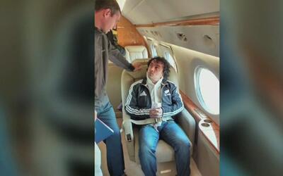 Con extremas medidas de seguridad, el narcotraficante colombiano alias M...