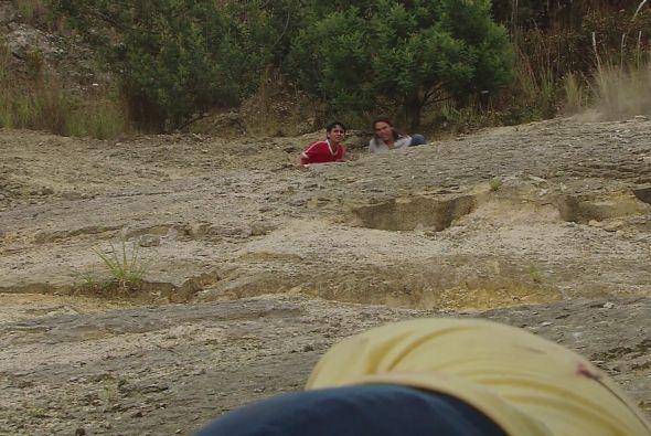 En su intento de huida, ya uno de ellos cayó muerto, mientras 'lombriz'...