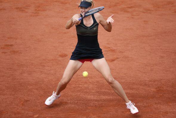 Sharapova, ganadora esta temporada en los torneos de Stuttgart y Roma, s...