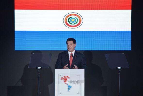 La participación de Horacio Cartes en la Cumbre Empresarial.