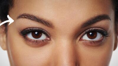 Close up rostro de mujer