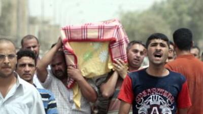 Pese a la reducción del número de muertos, la ONG internacional Iraq Bod...