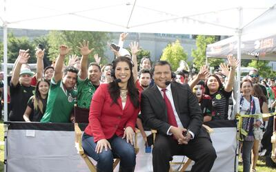 Univision Chicago en el Soldier Field