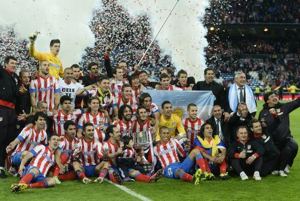 Y así el Atlético de Madrid se convirtió en el nuev...