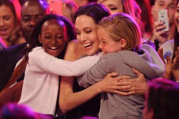 Los niños Pitt-Jolie son de lo más tiernos.