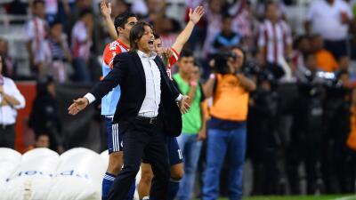 Matías Almeyda se mostró contento por ganar los dos clásicos