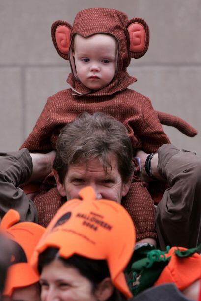 Lo mejor de disfrazar a tus hijos del animal que más les gusta es...