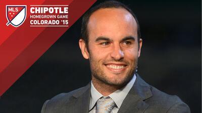 Landon Donovan, entrenador del MLS Homegron Game