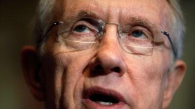 El líder del Senado, Harry Reid (demócrata de Nevada) no tendría aún gar...