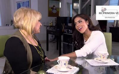Mi primera vez: Francisca le reveló sus problemas a la Dra. Nancy