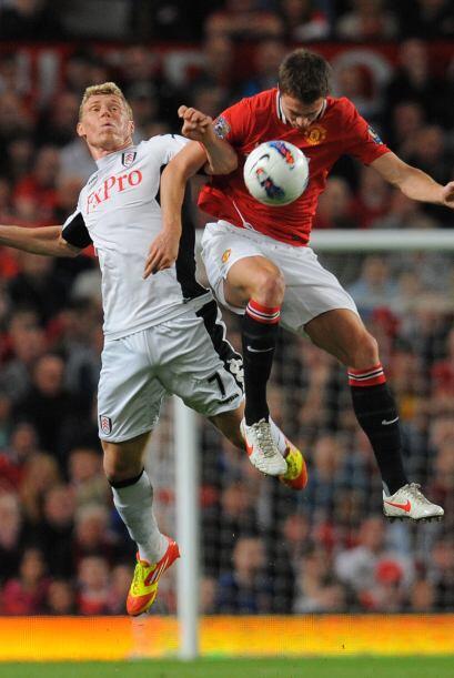 El partido tuvo muchos momentos con gran pelea por la pelota.