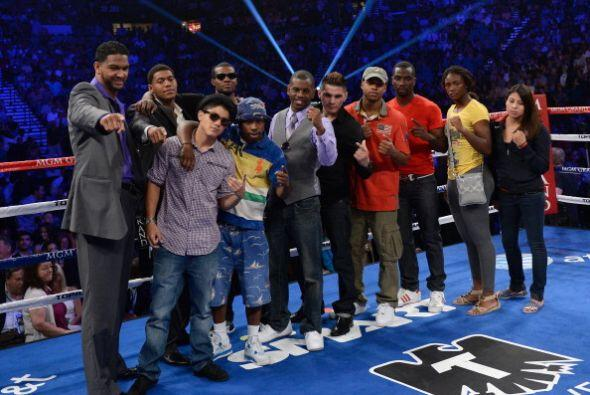Algunos miembros del equipo olímpico de boxeo de Estados Unidos fueron p...