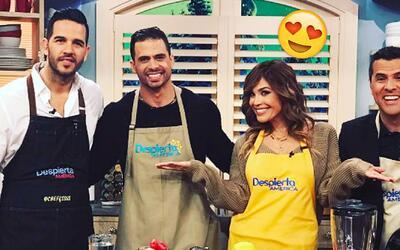 Qué suertuda: A Karla le tocó cocinar Espaguetis de Calabacín junto a tr...