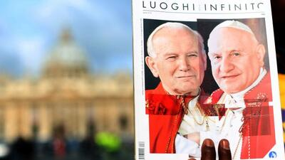 Juan Pablo II y Juan XXIII proclamados santos