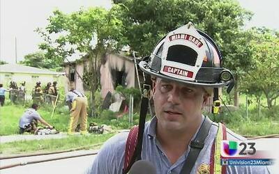 Incendio sospechoso en Miami-Dade