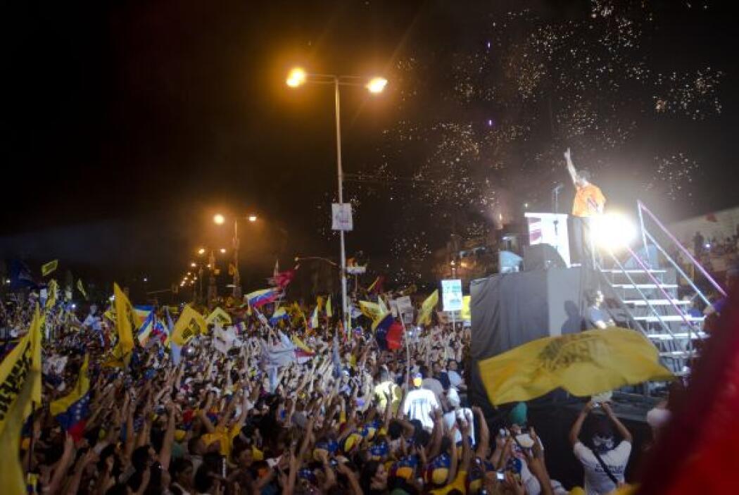 No va más en Venezuela. Chávez y Capriles se encuentran en el sprint fin...