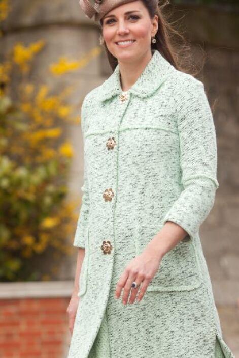 El evento en donde fue captada Kate Middleton fue en una conmemoración p...