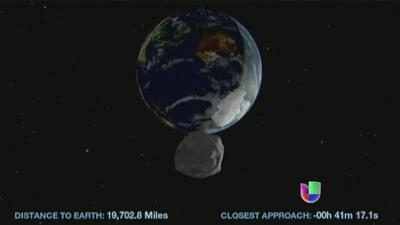 NASA recomienda rezar en caso de un asteroide