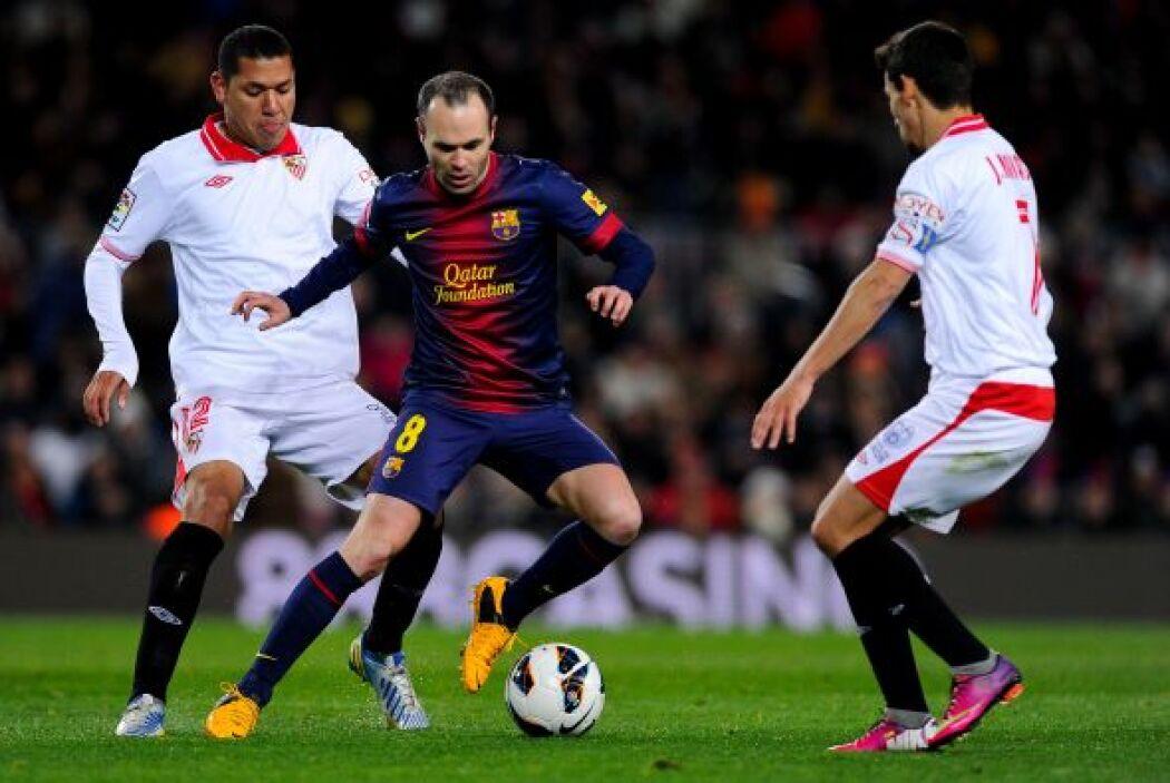 En este partido el Barcelona empezó más enganchado, pero le costó conseg...